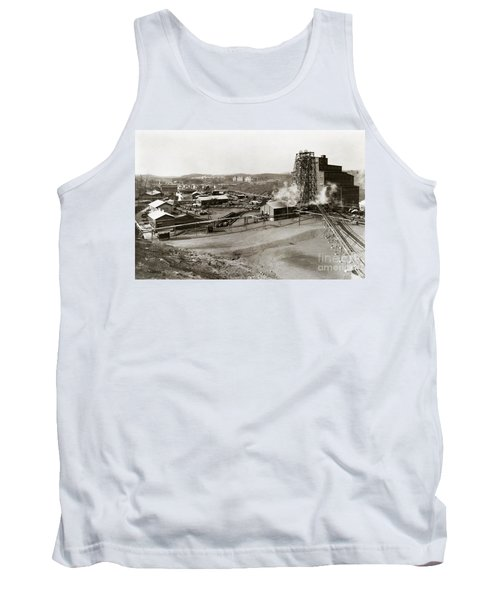 The Wanamie Colliery Lehigh And Wilkes Barre Coal Co Wanamie Pa Early 1900s Tank Top