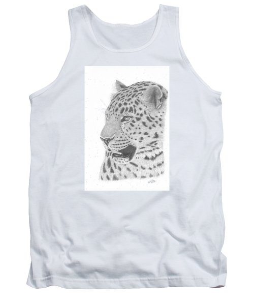 The Watchful Leopard Tank Top
