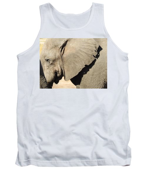 Tank Top featuring the photograph The Weathered Look by Betty-Anne McDonald