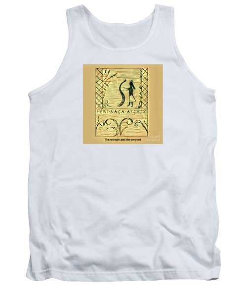 The Woman And The Serpent Tank Top