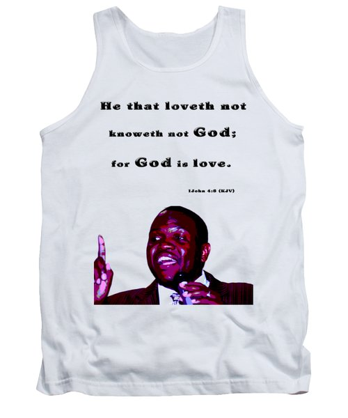 The Word Says..... Tank Top by Terry Wallace
