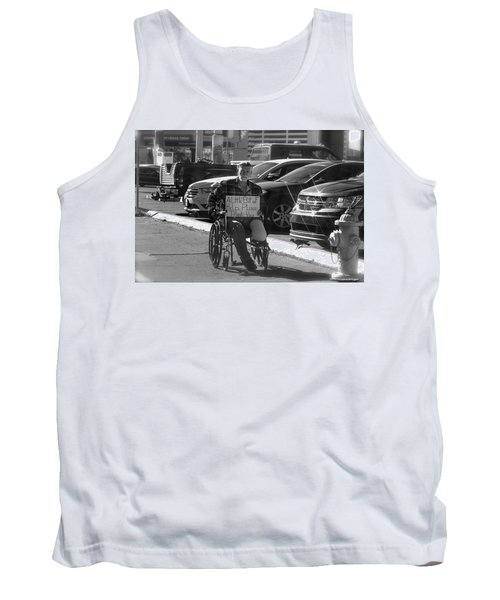 Tank Top featuring the photograph The World Is A Ghetto by Michael Rogers