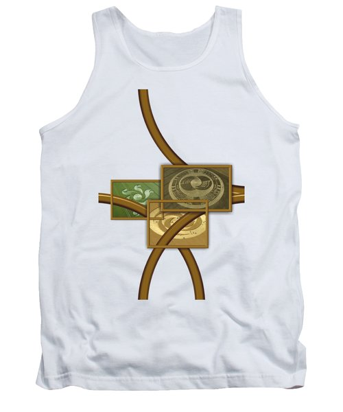 The World Of Crop Circles By Pierre Blanchard Tank Top