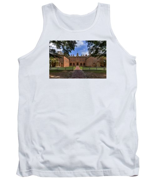 The Wren Building At William And Mary Tank Top by Jerry Gammon