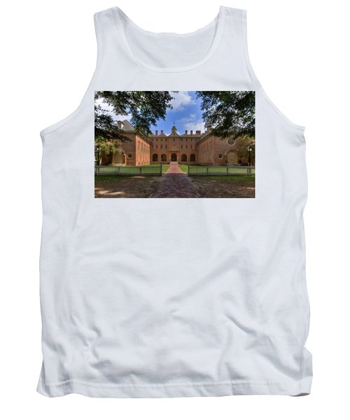 The Wren Building At William And Mary Tank Top