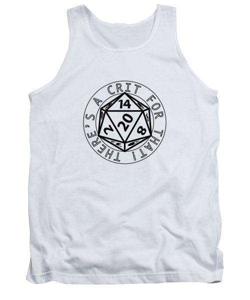 There Is A Crit For That Tank Top