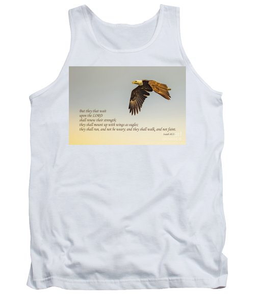 They That Wait Upon The Lord Tank Top by John Roberts