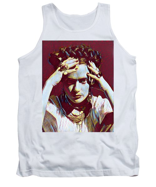 Thinking Frida Tank Top