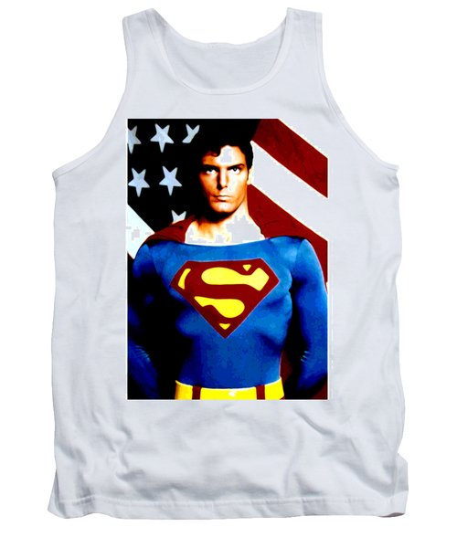 This Is Superman Tank Top by Saad Hasnain