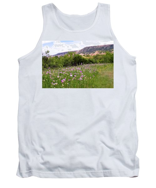 Thistles In The Canyon Tank Top