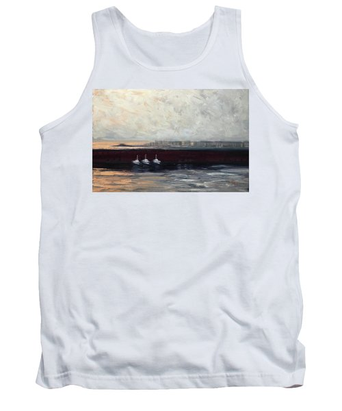 Three Boats Tank Top