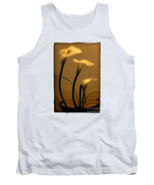 Three Lilies Tank Top