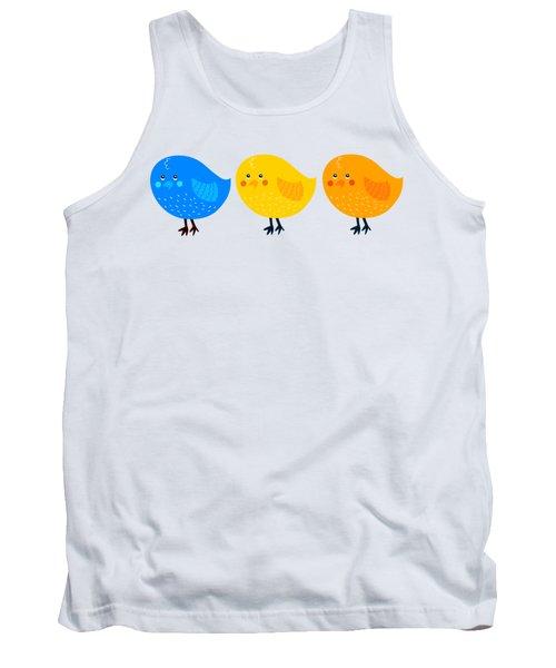 Three Little Birds Tee Tank Top