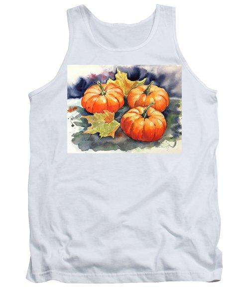 Three Pumpkins Tank Top