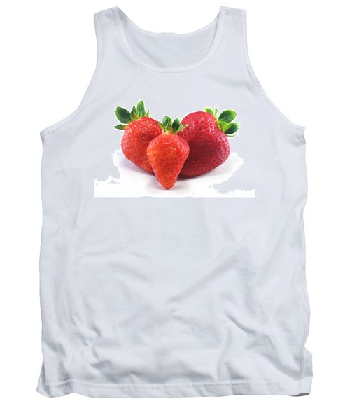 Three Strawberries Tank Top