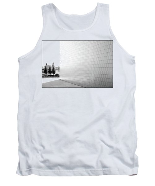 Three Trees And A Wall Tank Top