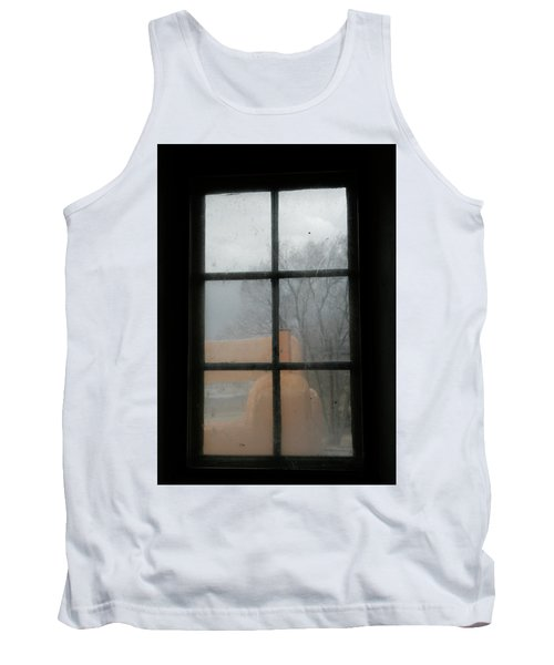 Tank Top featuring the photograph Through A Museum Window by Marilyn Hunt