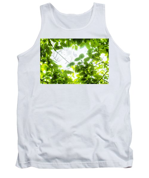 Through The Leaves Tank Top