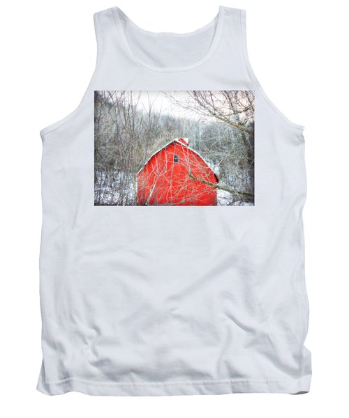 Tank Top featuring the photograph Through The Woods by Julie Hamilton