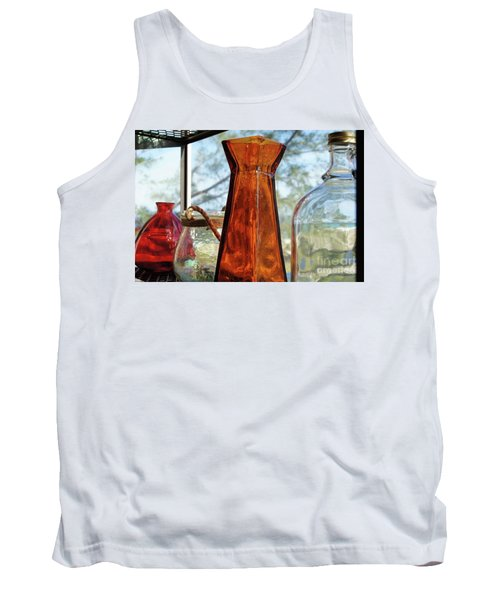 Thru The Looking Glass 1 Tank Top by Megan Cohen
