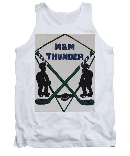 Thunder Hockey Tank Top by Jonathon Hansen