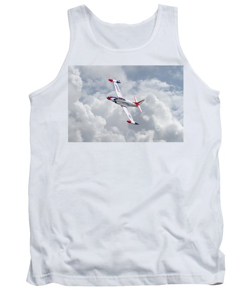 Tank Top featuring the photograph Thunderbirds - T33 by Pat Speirs