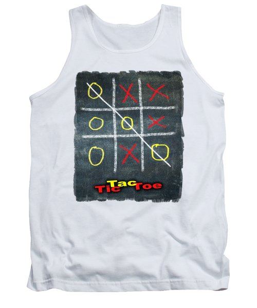 Tic Tac Toe Tank Top
