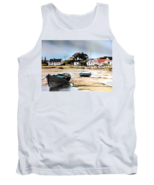 Tide Out In Erlak Roundstone Galway Tank Top