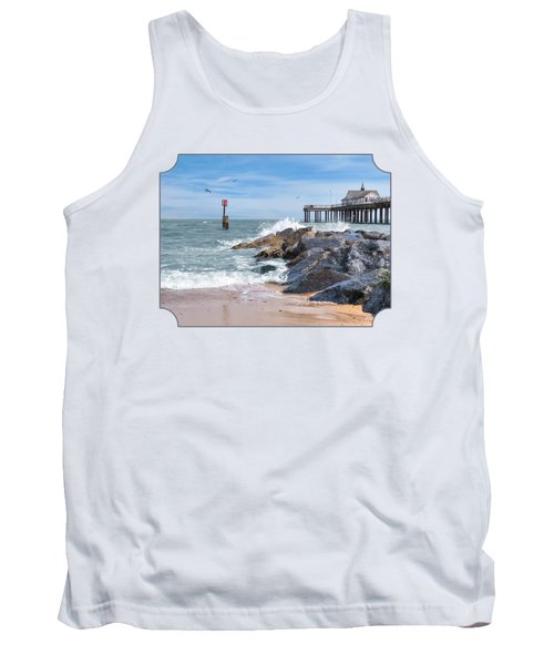 Tide's Turning - Southwold Pier Tank Top