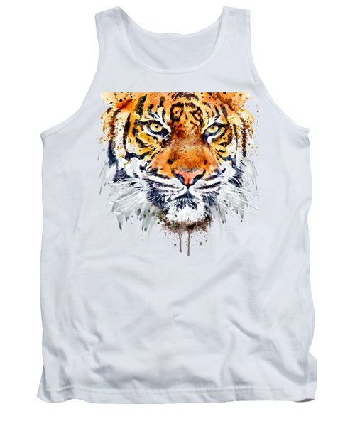 Tiger Face Close-up Tank Top