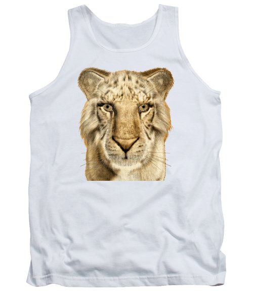 Tank Top featuring the painting Tigers by Methune Hively