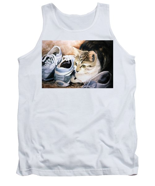 Tigger With Sneakers Tank Top