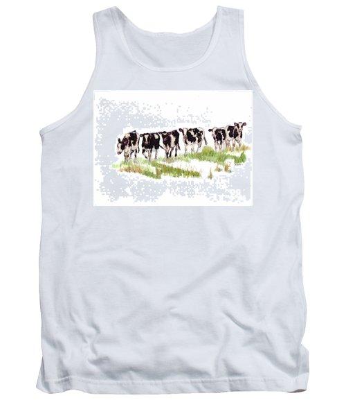 Till The Cows... Tank Top