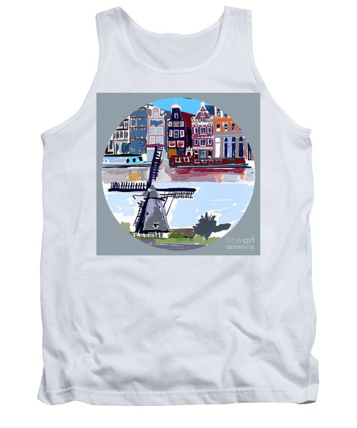 Tilting Windmills Tank Top