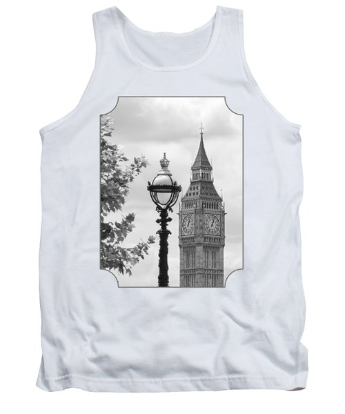 Time For Lunch Tank Top by Gill Billington