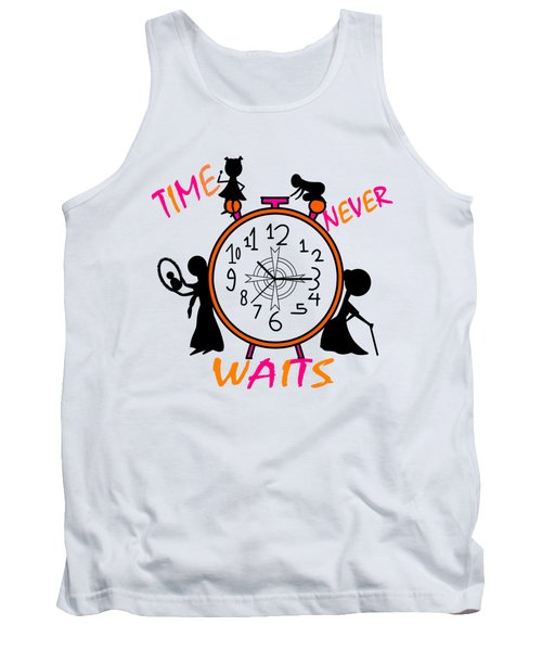 Time Never Waits Tank Top