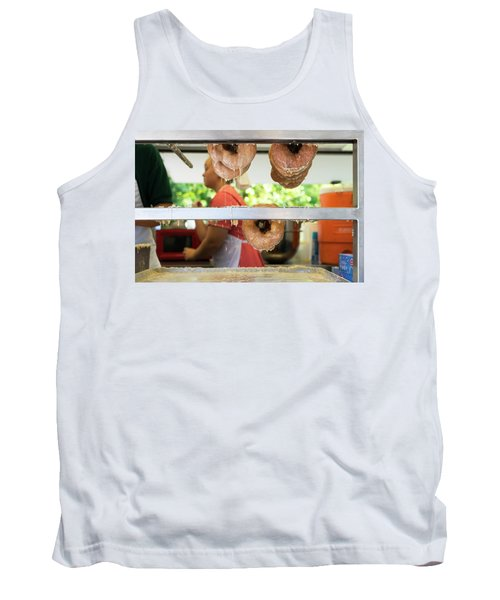 Time To Eat The Donuts Tank Top