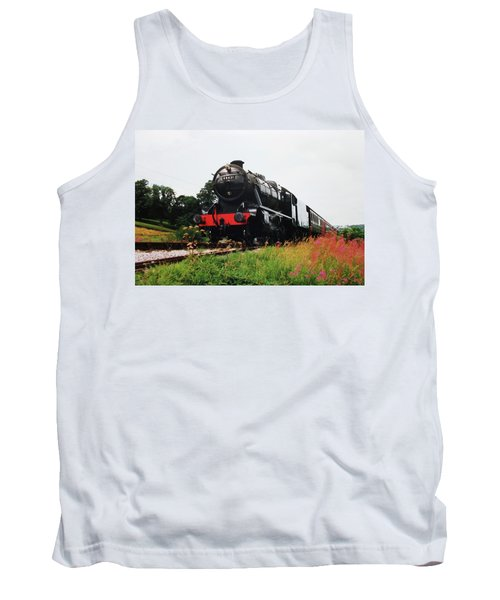 Tank Top featuring the photograph Time Travel By Steam by Martin Howard