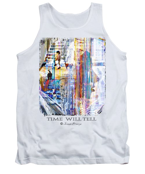 Time Will Tell Tank Top by Jennie Breeze
