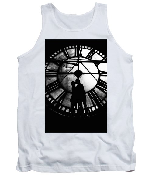 Timeless Love - Black And White Tank Top