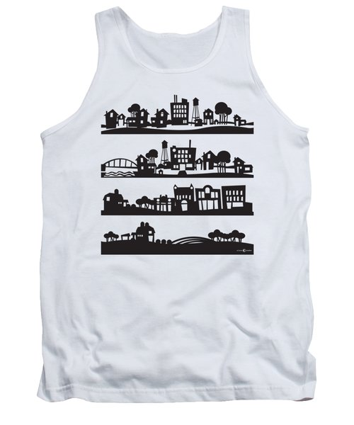 Tinytown Stacked Tank Top