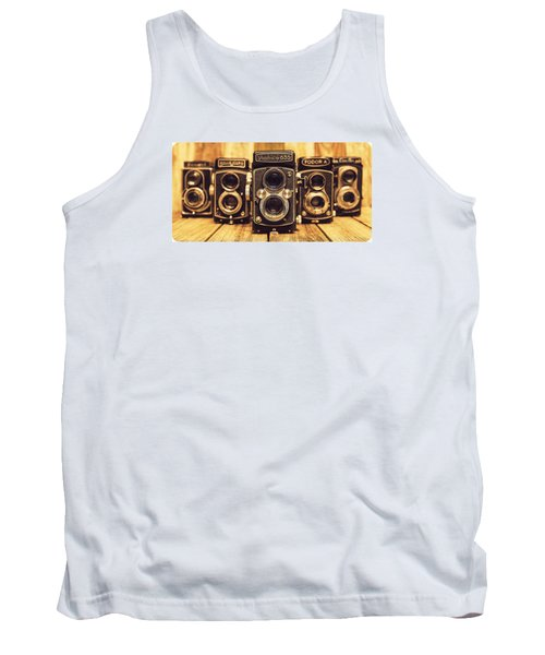Tank Top featuring the photograph Tlr Group by Keith Hawley
