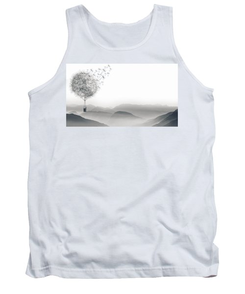 To Fly Only For A Moment Tank Top