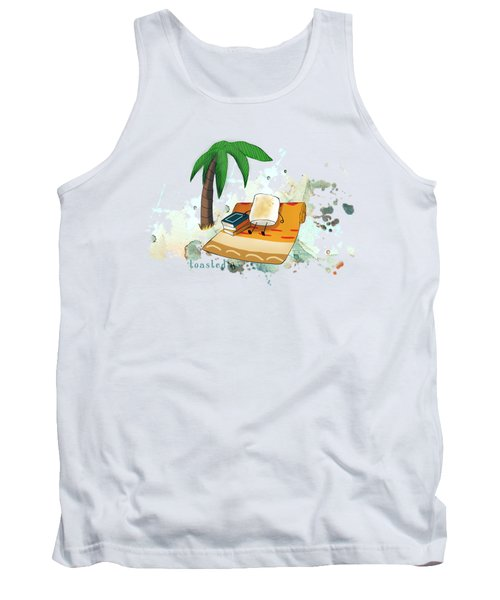 Toasted Illustrated Tank Top