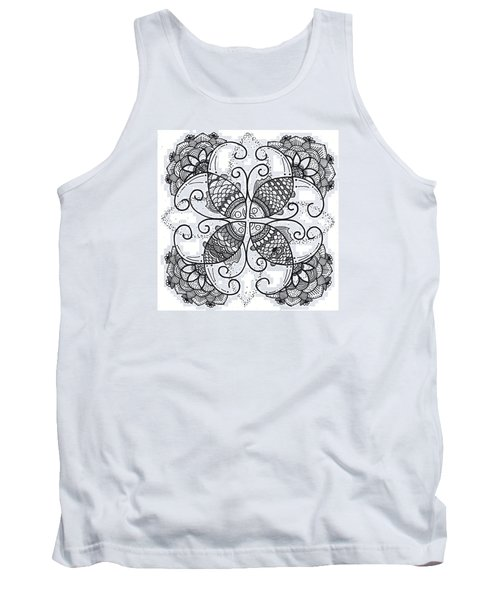 Together We Flourish - Ink Tank Top