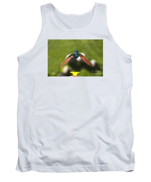 Tom Thumb Says Happy New Year Tank Top by Al Bourassa
