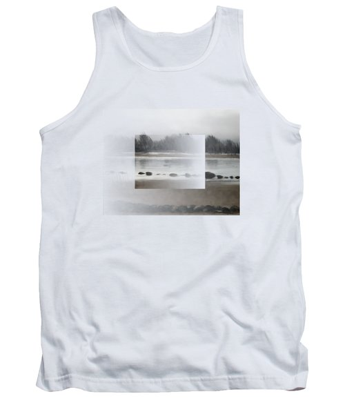 Tank Top featuring the painting Too Early Out by Ivana