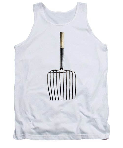 Tank Top featuring the photograph Tools On Wood 25 On Bw by YoPedro