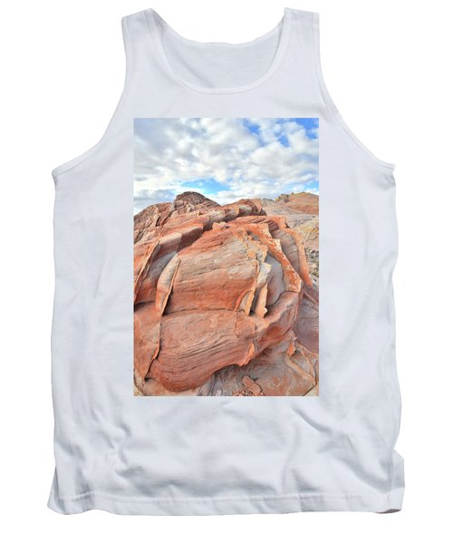 Top Of The World At Valley Of Fire Tank Top by Ray Mathis