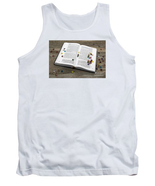 Torah Book Tank Top